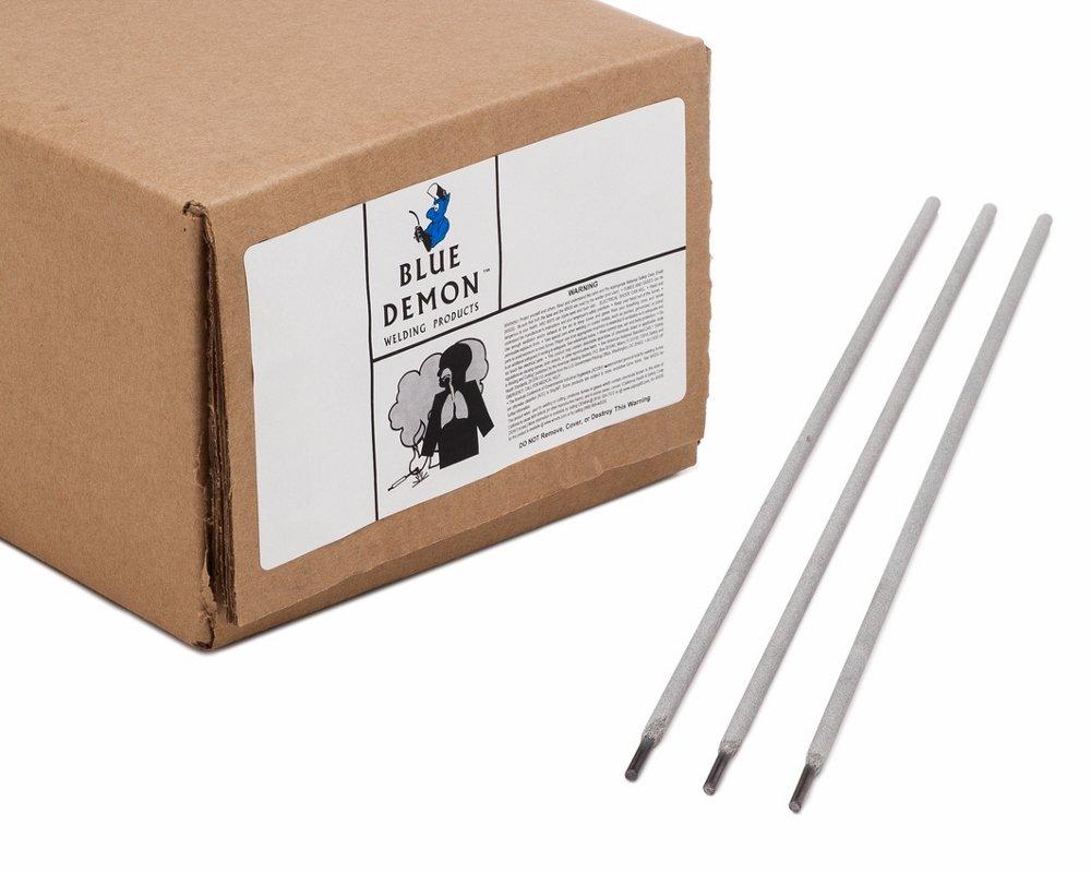 Blue Demon 7014 X 3//32 X 14 X 50LB Carton Iron Powder Carbon Steel Electrode