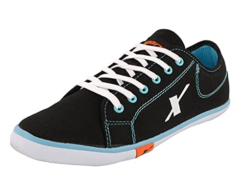 45809be29e Sparx Men s Black and Sky Blue Casual Shoes (SM-283)  Buy Online at ...