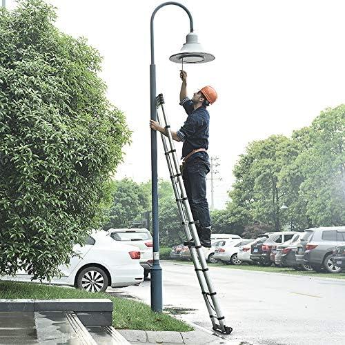 Aluminium Verlengladder Multifunctionele Ladder Multi Purpose Uitschuifbare Draagbare Stap Ladder Maximale belasting 330 lbs150kg 32 m