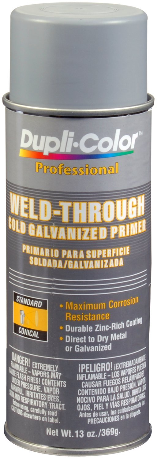 Dupli-Color (EDPP108-6 PK Gray Weld-Through Cold Galvanizing Primer - 12 oz. Aerosol, (Case of 6)