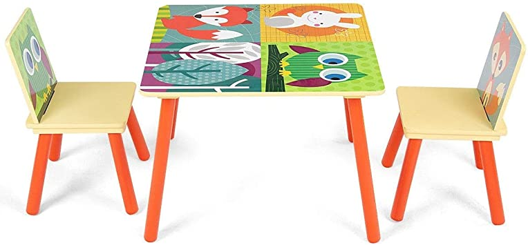 Children S Tables Chairs New Kids Scandinavia Table And 2 Chairs Children Play Room Sturdy Furniture Pine Home Furniture Diy Breadcrumbs Ie