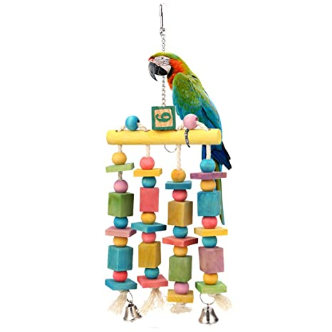JUST FOR HER MACAW,COCKATOO.PARROT BIRD TOY LG.SIZE
