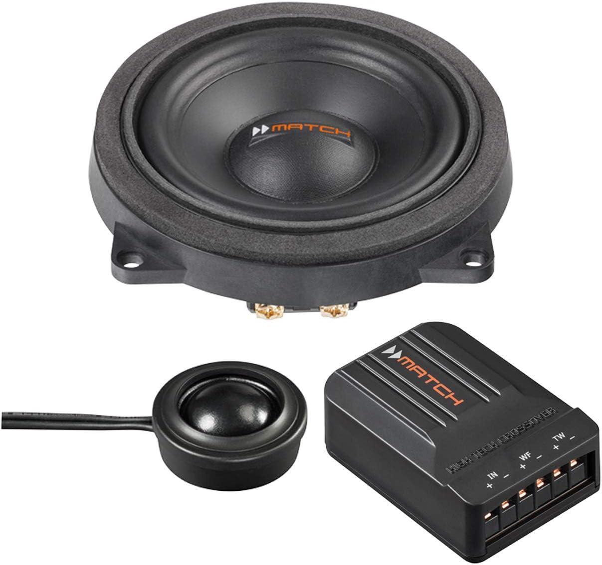 Match Ms 42c Bmw 1 10 Cm Komponenten Lautsprecher Mit 120 Watt Rms 60 Watt Für Bmw 1 3 5 7 Navigation