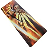 Gicon Anti-Slip Gaming Mouse Pad Extended Gaming Mouse Mat Anti-Slip Rubber Base OW Mercy (31.5 in x11.8 in x 0.12 in)