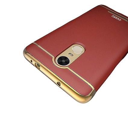 0dd4c780c65 Vaku ® Redmi Note 4 Ling Series Ultra-Thin Metal  Amazon.in  Electronics