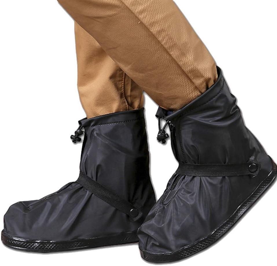 Waterproof Cycling Shoe Covers Anti-Slip Rain Boots Overshoes for Bike Motorbike