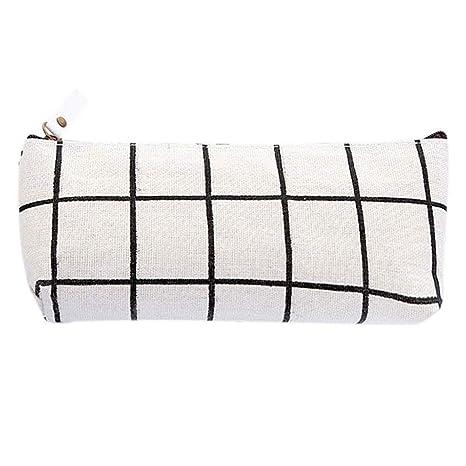 Amazon.com: Kasla - Estuche con rejilla, diseño de rayas ...
