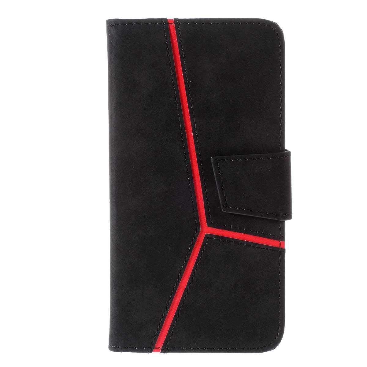 Coque pour Samsung Galaxy S10, Bear Village® Galaxy S10 Étui en Cuir, Portefeuille Housse à Rabat avec Fonction de Support et Fente pour Cartes, Noir