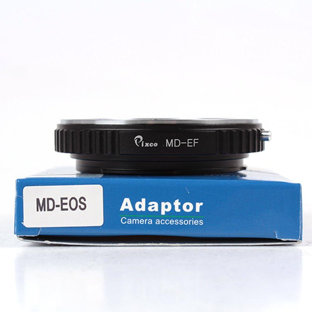 3000D 2000D 7D 600D 60D 6D 700D 70D 1500D Pixco Macro Minolta MD to Canon EOS Lens Adapter 5D Mark III 4000D