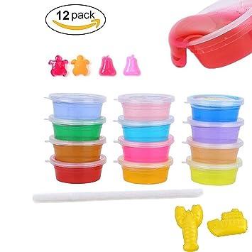 Crystal clay soft slime magic toy ebuy diy putty slime 12 box of crystal clay soft slime magic toy ebuy diy putty slime 12 box of putty mud 12 ccuart Gallery