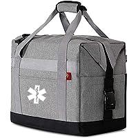2pcs personalized custom own LOG0 Shoulder Bag for EMT,Paramedic, Home Health, Nurses,Doctor,Medical Professionals…