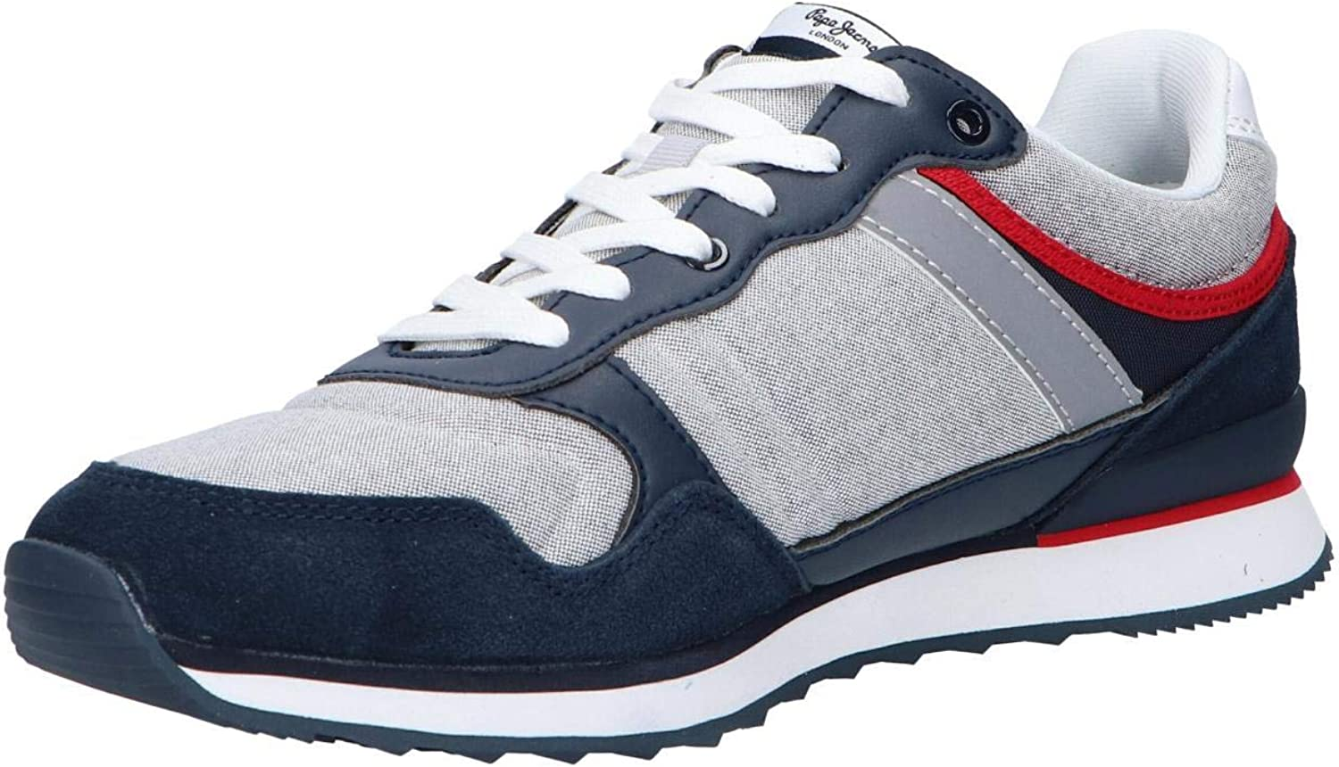 Pepe Jeans Cross 4 PMS 30606 Marino Chaussures pour homme Bleu