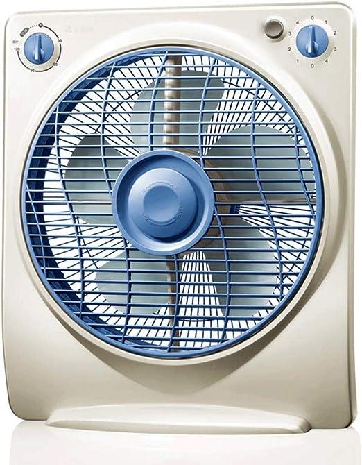 UJYUY Ventilador de Escritorio Ventilador de Escritorio silencioso Ventilador Diseño Retro Regulador de Velocidad ...