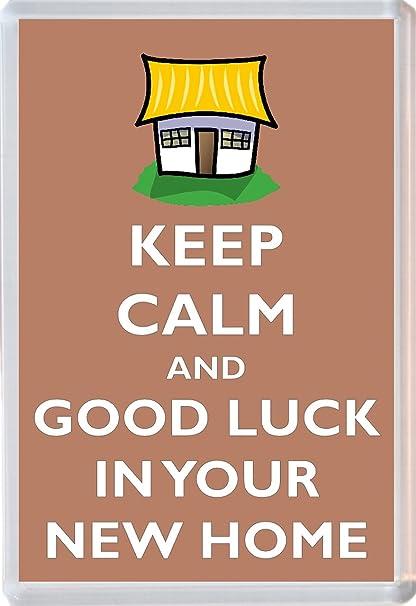 Mantener la calma y buena suerte en tu nueva casa - Jumbo imán ...