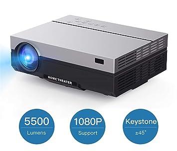 Proyector Full HD Proyector 1920X1080p Portátil 5500 lúmenes HDMI ...