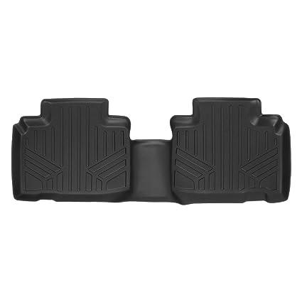 Smartliner Floor Mats Nd Row Liner Black For   Ford Edge
