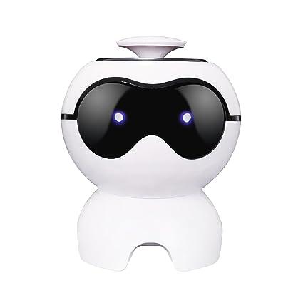 Amazon com: ROBOT SPEAKER Mini Dog Portable USB Stereo Sound Speaker