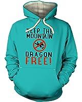 Keep The Mountain Dragon Free Hoodie (premium)