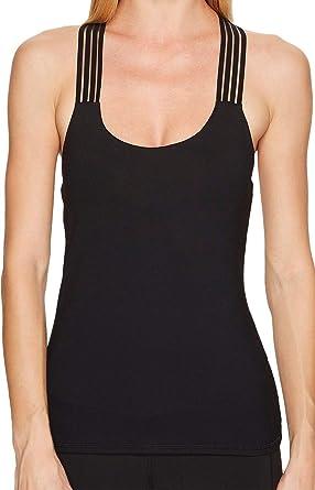 461b6b61d3 ALO Women s Escape Bra Tank Top Black Tank Top at Amazon Women s Clothing  store