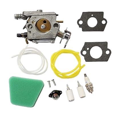 Amazon Com Aisen Carburetor Gasket Fuel Line Pimer Bulb Air Filter
