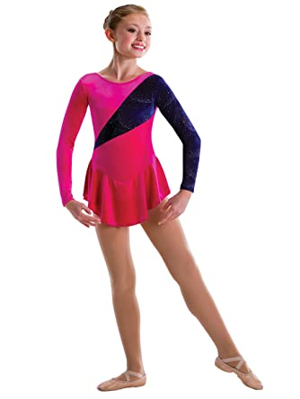 c8f7226fd Amazon.com  Motionwear Purple Jubilee Glitter Velour Spotlight Long ...