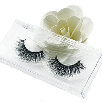5eb07e4226b VWH 3D Fake Eyelashes Natural Thick False Eye Lashes Makeup Extension:  Amazon.co.uk: Beauty