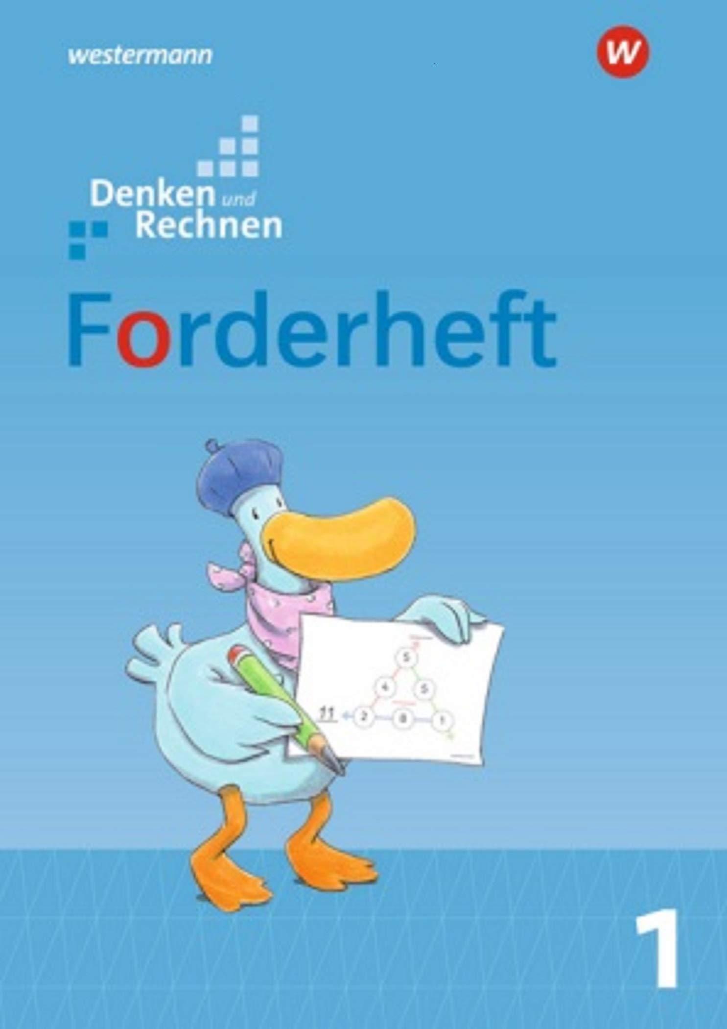 Denken und Rechnen - Allgemeine Ausgabe 2017: Forderheft 1 Broschüre – 1. November 2016 Westermann Schulbuch 3141266212 Schulbücher Brandenburg