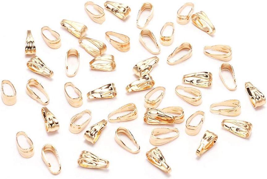 100pcs lot 7mm Product Pendant Clasp Connectors KC Clips Challenge the lowest price of Japan ☆ Gold