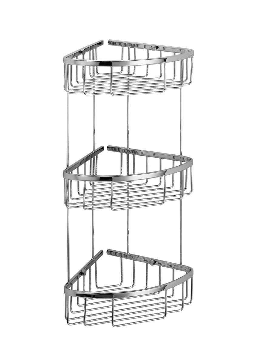 Lineabeta 50033.293Tier Corner Soap Basket 27x 21x 51cm