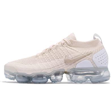 7d4bc6cfbc NIKE Women's W AIR Vapormax Flyknit 2, Light Cream/Metallic Gold Star, 8.5