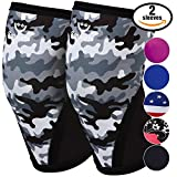 Women's Athletics & Weightlifting Non Slip Compression Knee Sleeves 1...