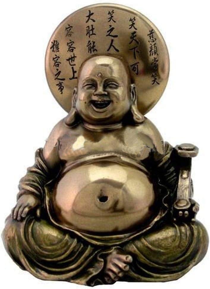Estatua de Buda feliz Esencia de la alegría en miniatura gnomo jardín Zen a 3123: Amazon.es: Juguetes y juegos