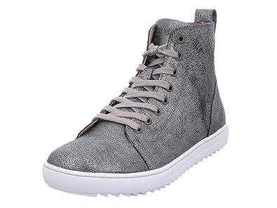 c07ca9842591ae BIRKENSTOCK Damen Sneaker Bartlett Women NL Metallic SIL