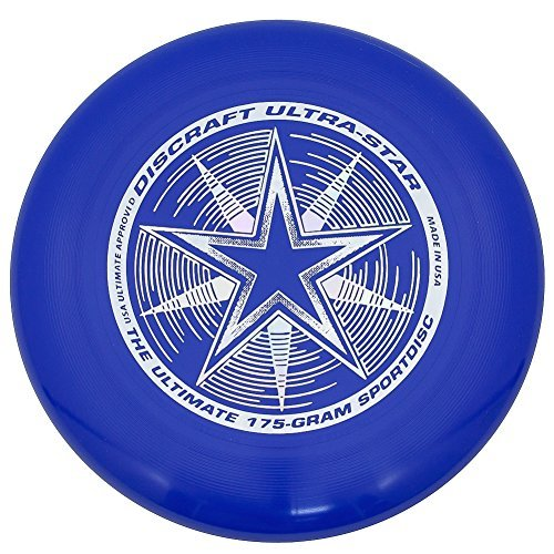 Discraft 175 g Discraft Ultrastar Frisbee (Royal Blue) by Discraft