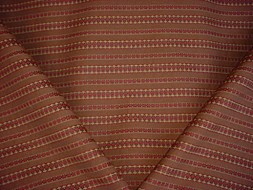Valdese Weavers / Circa 1801 - Southwest Canyon Kilim Ikat Stripe Designer Upholstery Drapery Fabric - By the Yard Weaver Stripe