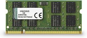 Kingston ValueRAM 2GB 667MHz DDR2 Non-ECC CL5 SODIMM Notebook Memory
