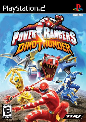 (Power Rangers Dino Thunder - PlayStation 2)