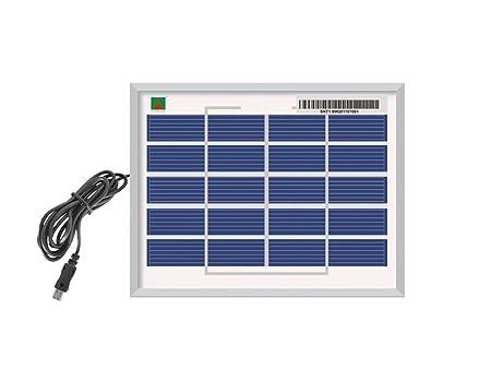 Xodi Premium 6 Watt Solar Panel with Multi Pin Mobile Charger Heavy Quality M-04 LH-01