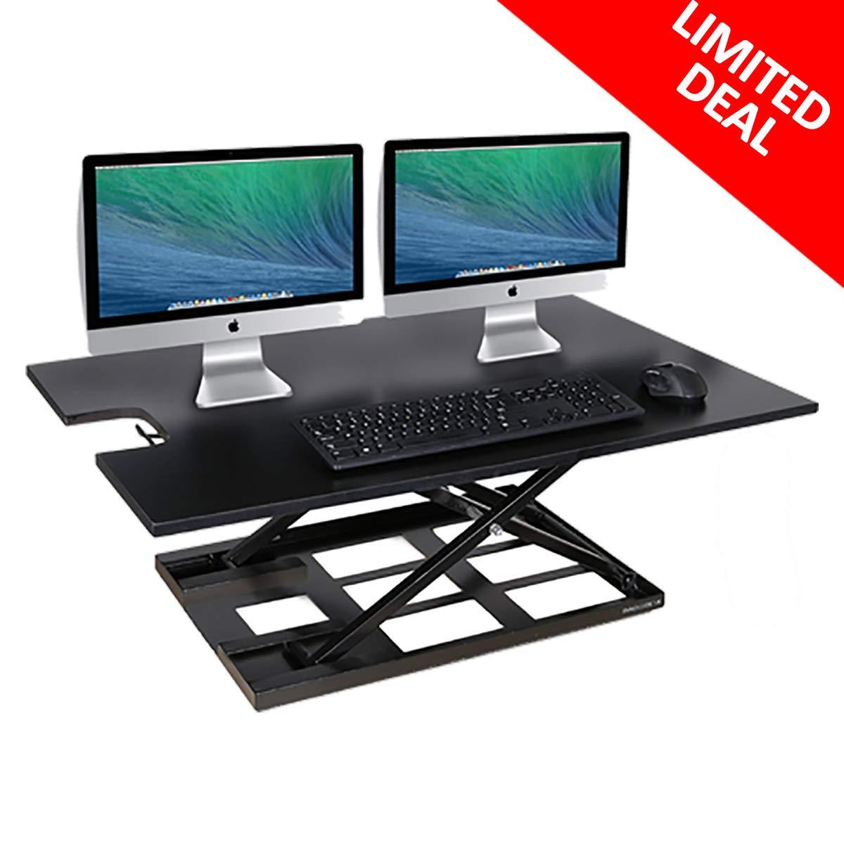 Amazon Com Standing Desk Converter Innovadesk 36 24 Inches