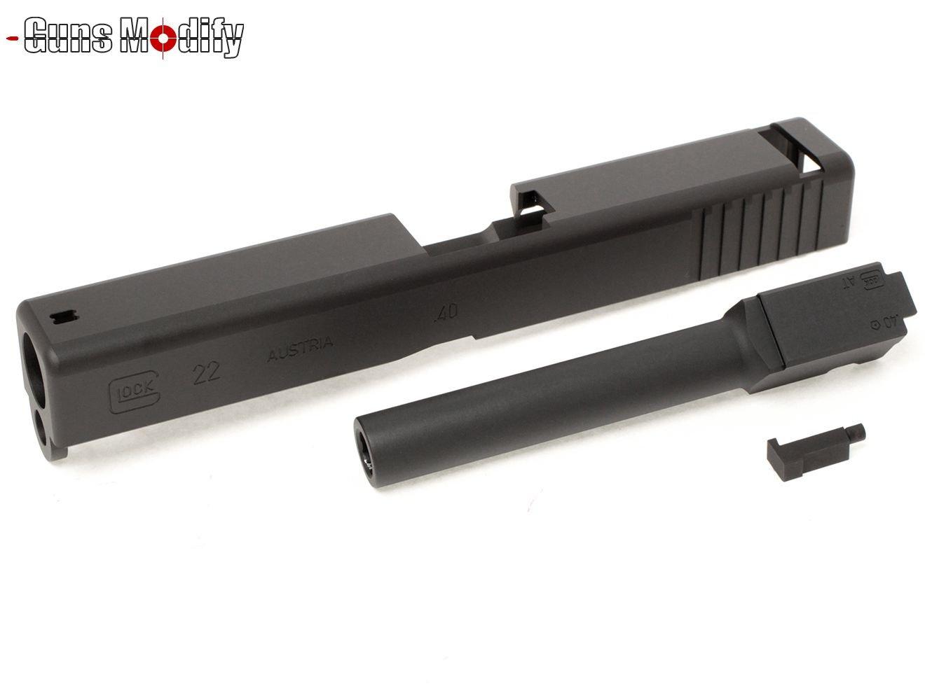 Guns Modify G22 CNC アルミスライド&アウターバレルセット 2016Ver B076VJRR1V