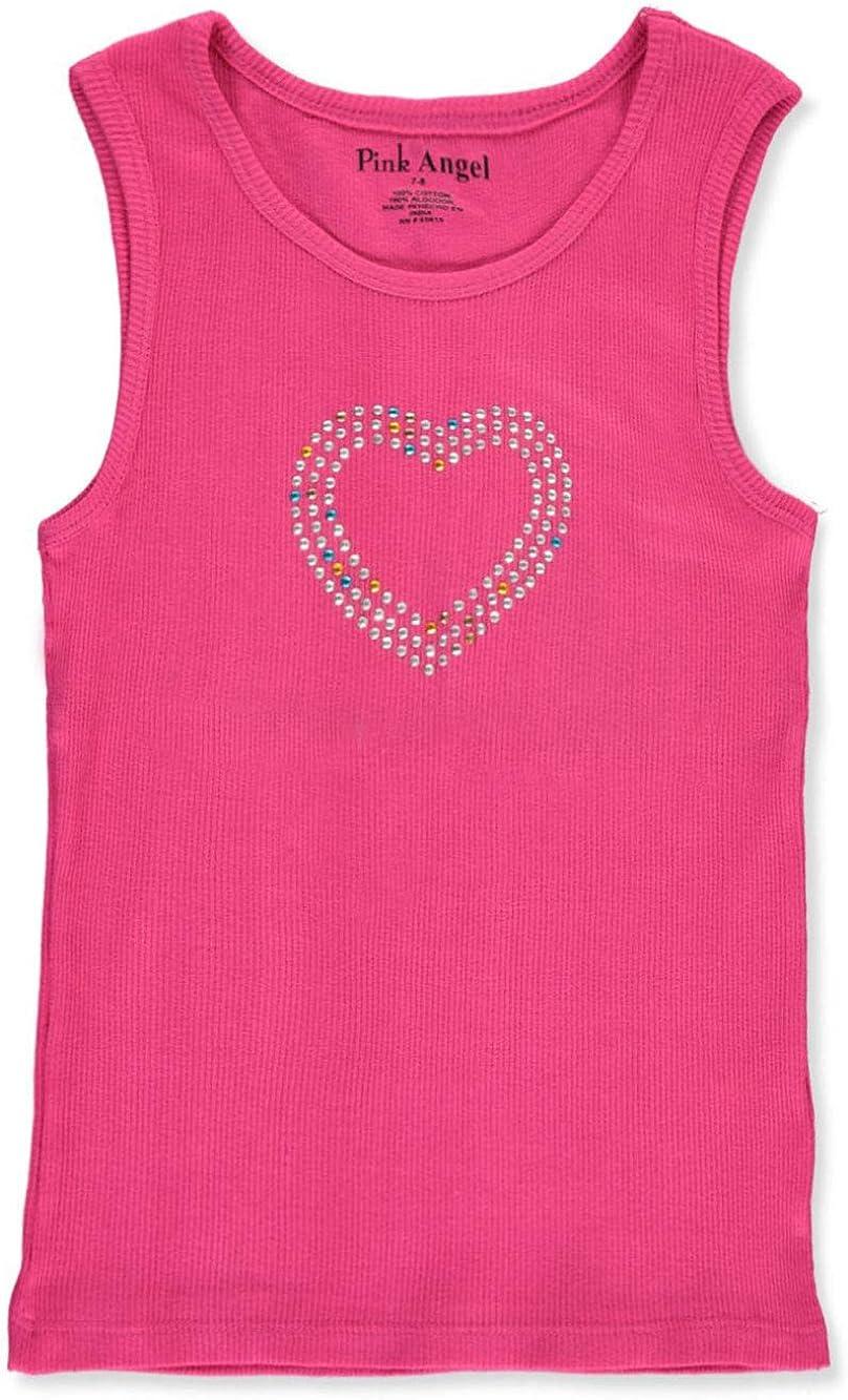 Pink Angel Girls Bejeweled Tank Top