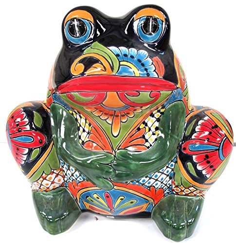 TALAVERA FROG PLANTER (LARGE) by Talavera Pottery Store