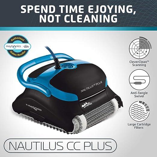 Amazon.com: Dolphin Nautilus CC Plus limpiador automático de ...