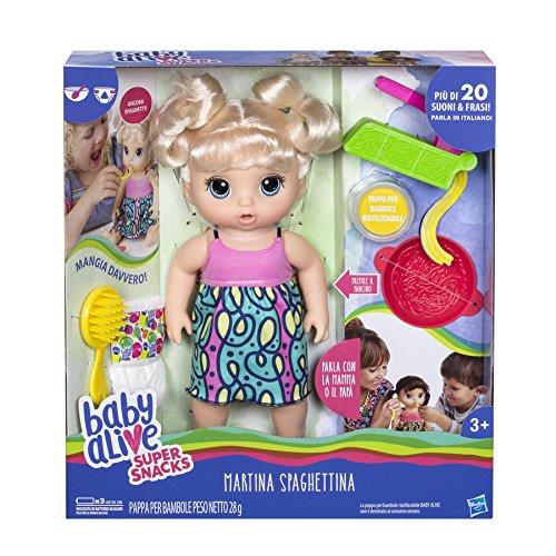 Hasbro Baby Alive – Martina spaghettina
