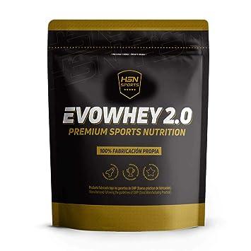 Whey Protein Concentrate (WPC) de HSN Sports - Concentrado de Proteína de Suero Evowhey 2.0 - Sabor Yogur y Melón - 2000 gr: Amazon.es: Salud y cuidado ...