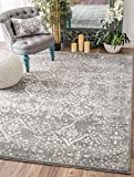 Nuloom 9′ x 12′ Vintage Odell Rug in Silver Review