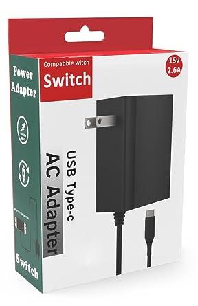Amazon.com: Nintendo Switch Cargador, idudu adaptador AC ...