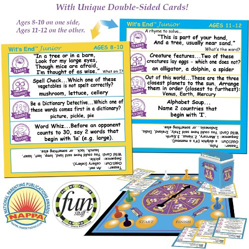 Wit's End Junior Board Game