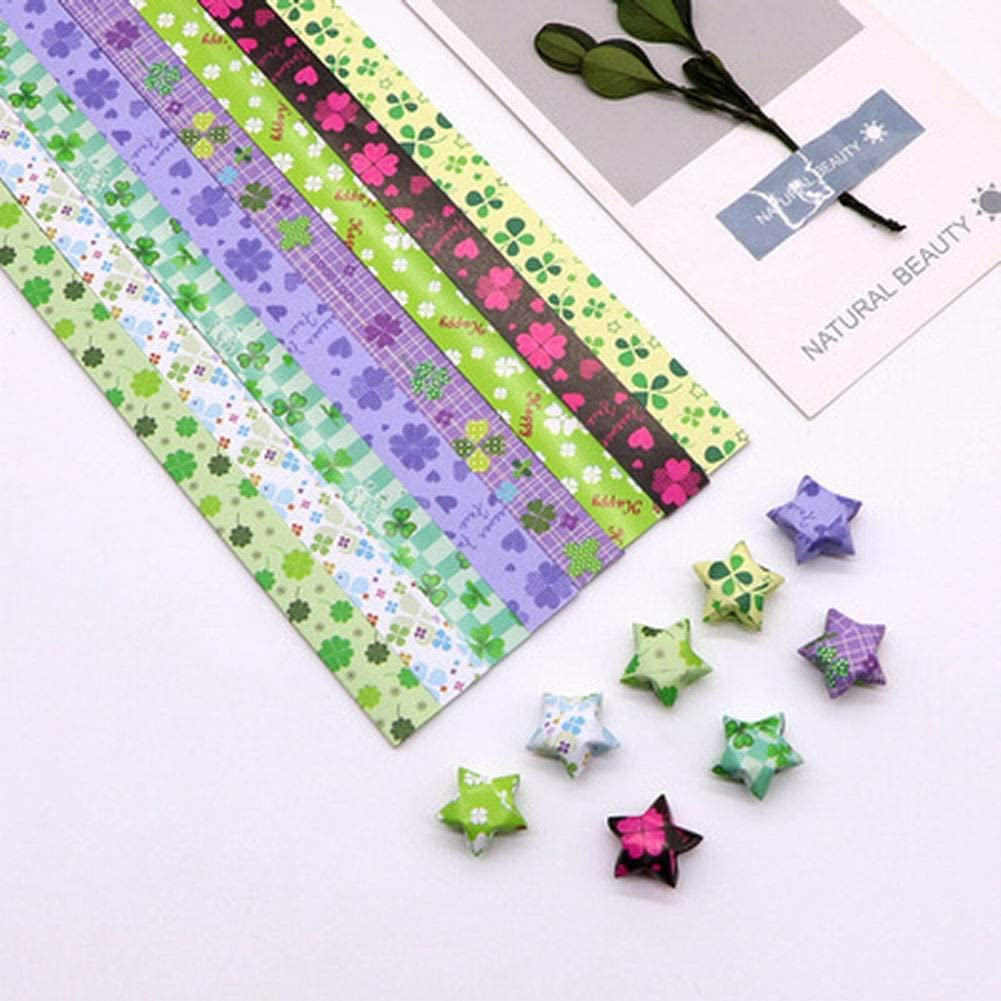 Teabelle 1 Tasche Origami Lucky Star Papierstreifen Faltblätter ... | 1001x1001