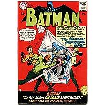 BATMAN #174 DC human punching bag cover - Silver Age! fn